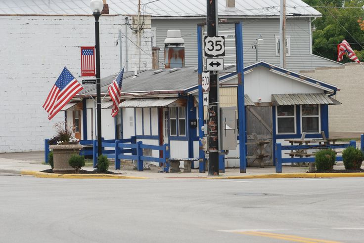 An empty business building located at the Intersection of Ohio 503 and U.S. 35 in downtown West Alexandra. West Alexandria, a village of about 1,300, is one of 10 village inside Preble County. Less than one block east of this building is an out-of-business dollar store that used to house the family-owned Landis Pharmacy.