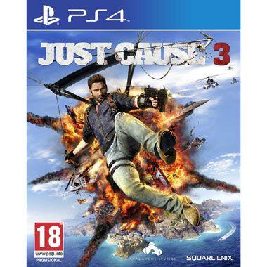PS4 Just Cause 3  Veroorzaak chaos met Rico Rodriguez op het fictieve eiland Medici in Just Cause 3 voor de PlayStation 4!  EUR 29.99  Meer informatie