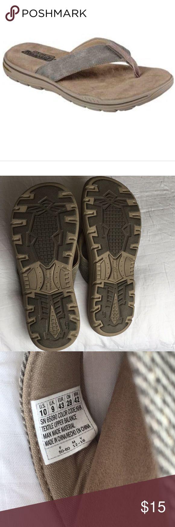 Men's Skechers Relaxed Fit Memory Foam Brand new. No box. Slippers/Flipflops Skechers Shoes Sandals & Flip-Flops