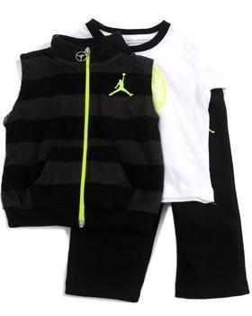 Buy 3 PC BOLD STRIPE SET (INFANT) Boys Sets from Air Jordan. Find Air Jordan fashions & more at DrJays.com