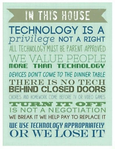 Tech rules