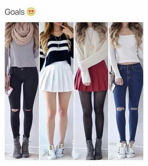 Highschool back to school shopping cute outfits