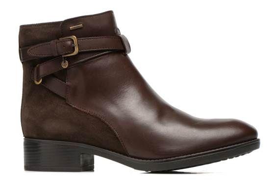 Geox D FELICITY ABX B D54X9B (Marron) - Bottines et boots chez Sarenza (234555)