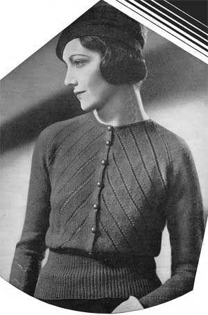 Vintage 1930s knitting pattern by vintagemode, via Flickr