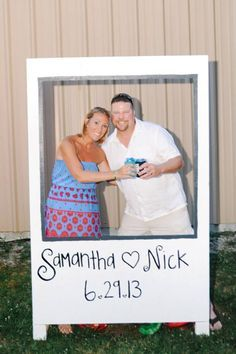 My home made wedding photo booth! Went to the dollar store for props.