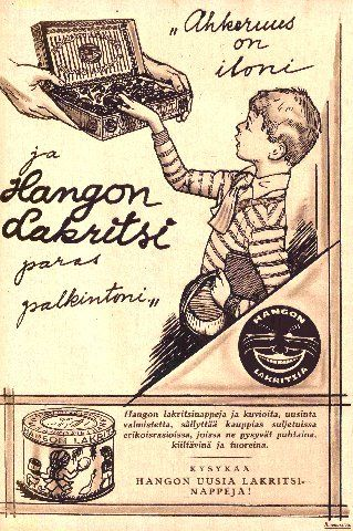 Hangon Lakritsi/1928