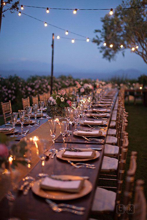 Brides: A Chic, Outdoor Wedding in the Arizona Desert