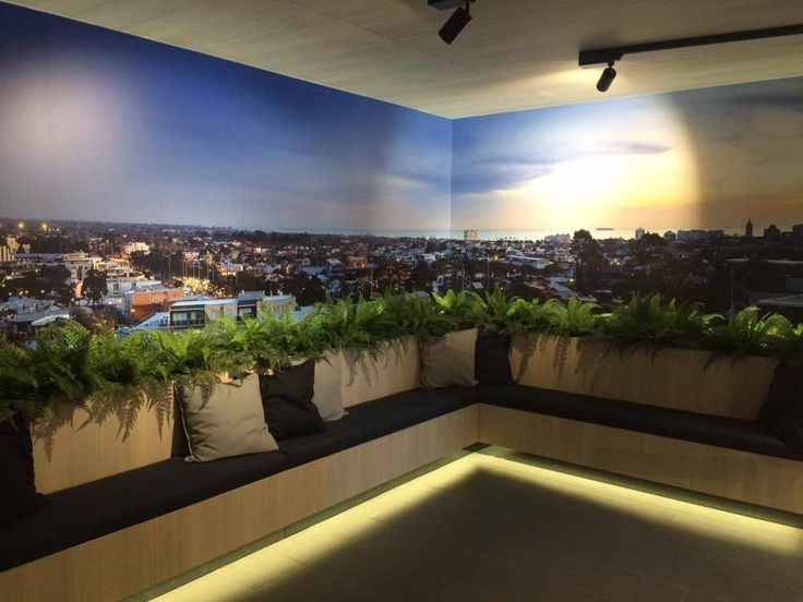 A great addition to any corporate space | Vertical Gardens | Feature Wall Art | Floral by Design
