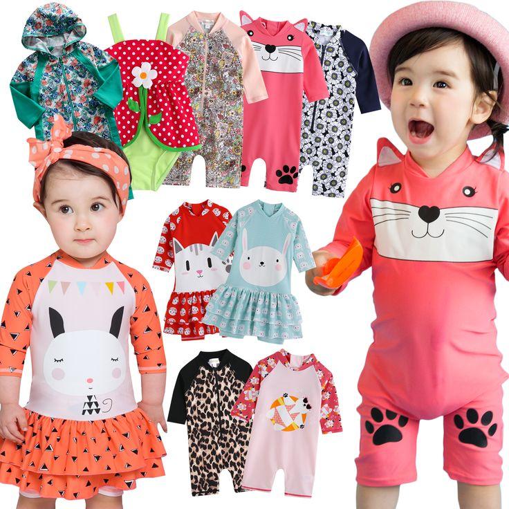 "Vaenait Baby Toddler Swimwear UV Bathing Swimsuit Suit ""9Style Baby Girls"" 0-24M"