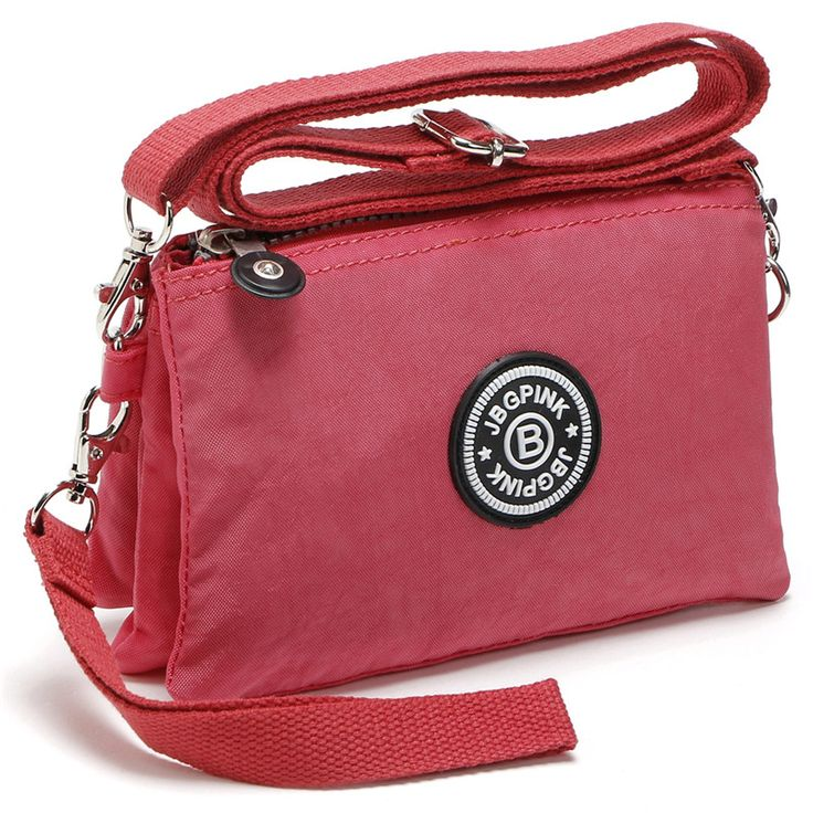 J BG PinK Clutch bag women messenger bags casual mini crossbody bag for girls waterproof nylon. Click visit to buy