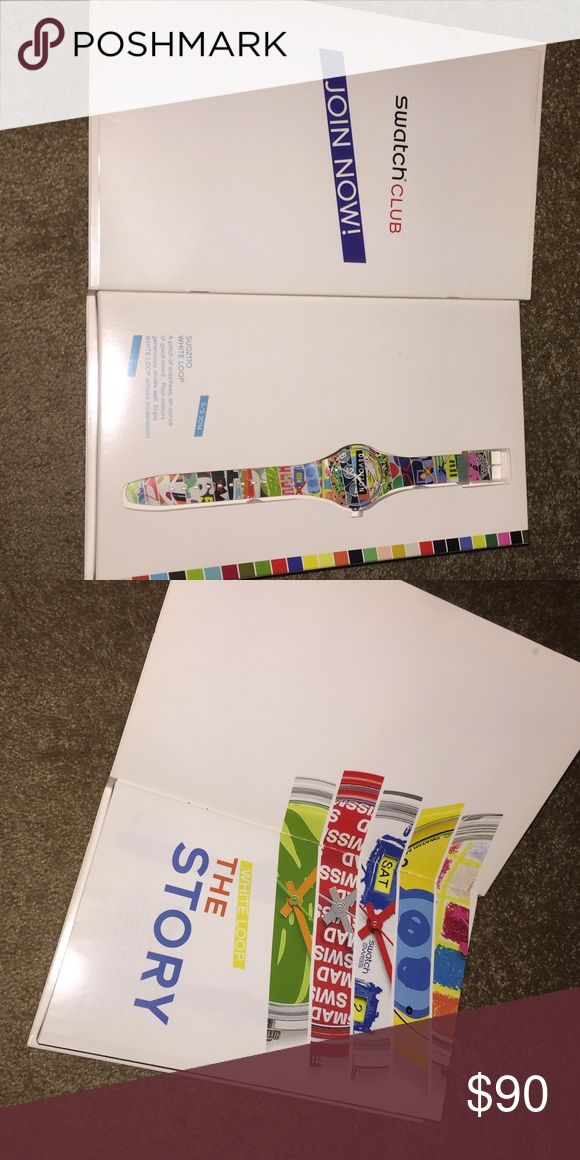Swatch Watch SUOZ170 LIMITED EDITION 2014 Never worn & still in box. Others are selling for +$199 on eBay! This price is a steal! Swatch Accessories Watches
