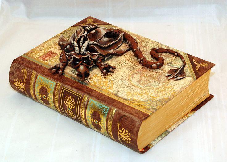 Brown-Dragon-on-Teal-map-book-1
