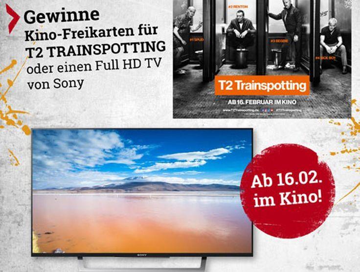Gewinne mit EMP 48″ Sony Full HD Fernseher!  Dazu gitb es im Wettbewerb 25 Fanpakete zu T2 TRAINSPOTTING zu gewinnen.  Nimm hier teil und gewinne: http://www.gratis-schweiz.ch/gewinnen-einen-sony-full-hd-fernseher/  Alle Wettbewerbe: http://gratis-schweiz.ch/