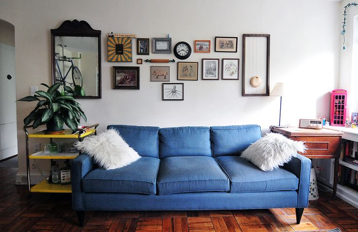 house tour playful cozy style in d c apartments