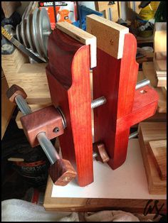 I made this one!: Bench Vise (ShopNotes style) - by FreddyS @ LumberJocks.com ~ woodworking community