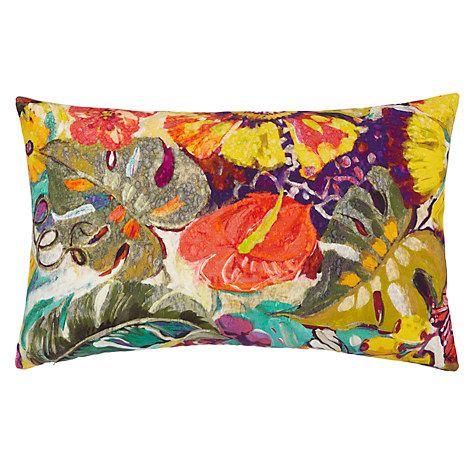 Buy John Lewis Tropical Gardens Cushion, Multi Online at johnlewis.com