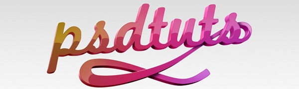 Parlak 3D Tipografi oluşturma