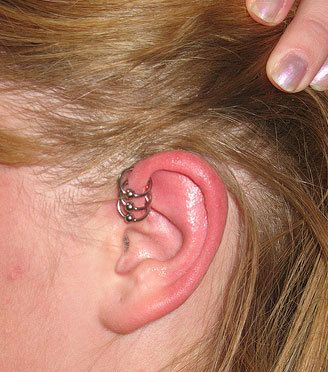 Cartilage Ear Piercing Information Healing Infections And Care