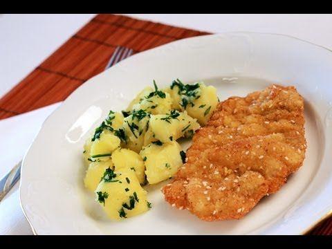 Mustáros csirkemell krumpligombóccal - YouTube
