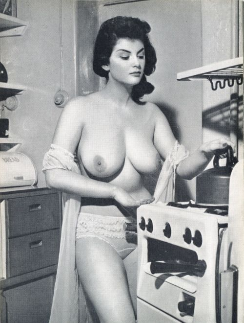Vintage retro big tits