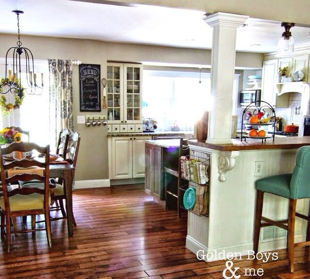 Perfect kitchen dining room combo