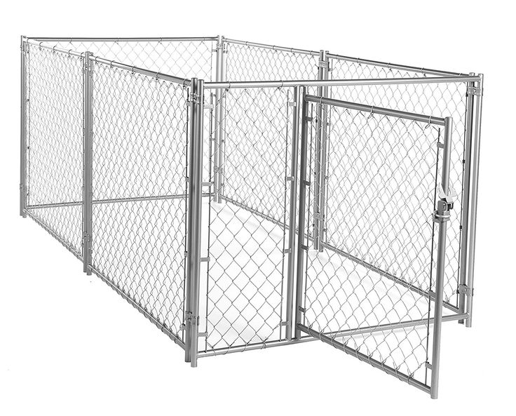 Lucky Dog CL 49150 Modular Chain Link Kennel, 6 x 10 x 10' *** You can get more details here : Crates, Houses and Pens for dogs