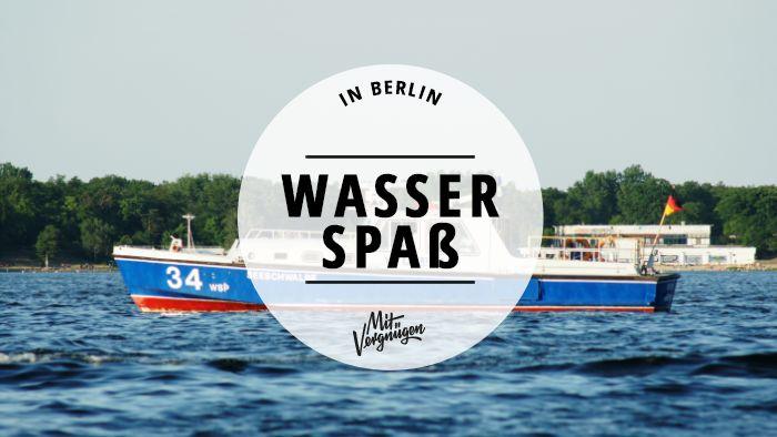 Baby, it's warm outside! Wir haben 11 Ideen für euch, was ihr in Berlin Schönes in Wassernähe machen könnt.