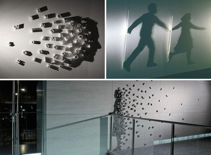 Kumi Yamashita--Shadow Art: 10 Cutting-Edge Artists of the 21st Century - My Modern Metropolis