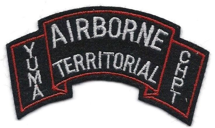Airborne Territorial Yuma CHPT scroll patch