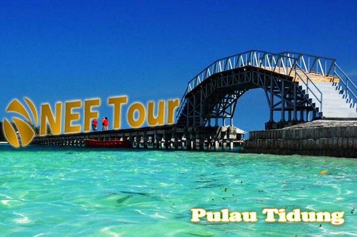 NEFtour & Travel menyediakan Paket Wisata Pulau Tidung – Pulau Seribu, Pulau Tidung Salah satu pulau yang berada di gugusan Kepulauan Seribu ini konon dikenal dengan nama Tidung, namun seiring berjalannya waktu banyak orang menyebut pulau yang terkenal dengan Jembatan Cinta ini dengan nama Pulau Tidung. Undang Pulau Seribu NEFtour