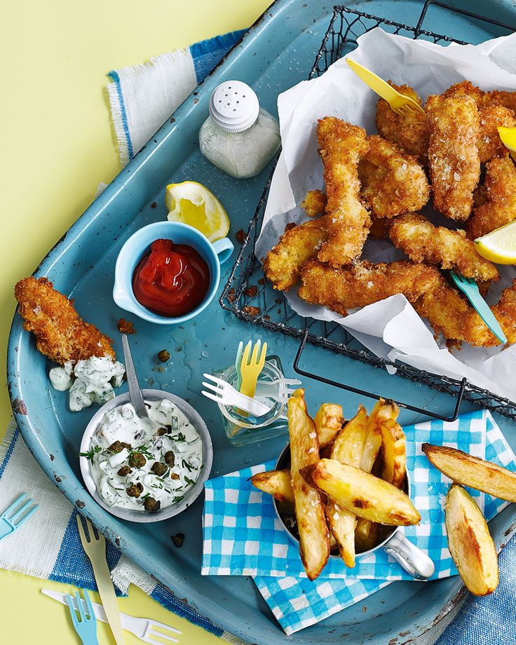Try scampi and chips our way – the scampi in breadcrumbs, fried for 1-2 minutes to crisp perfection. Add a squeeze of lemon, flaky sea salt and tartare sauce for the full retro experience.