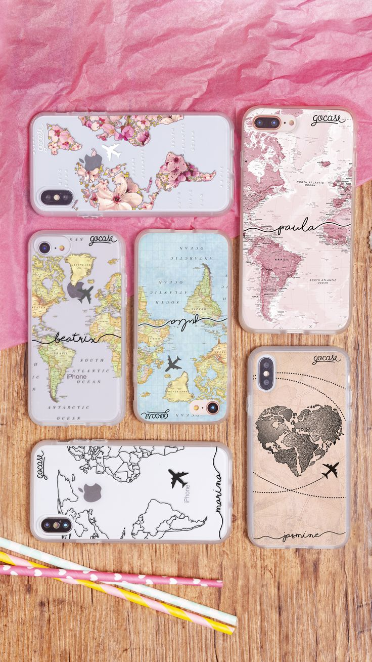 apple cases, apple products, apple accessories, worldmap, maps, heart, plane, travelling, travel, iphone x, iphone 7 plus, iphone 8 plus, ipho… | Apple in 2019 | Custom iphone cases, Iphone accessories, Iphone cases