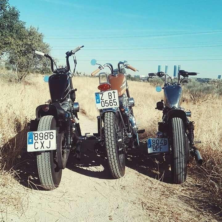 Harley davidson sportster bobber chopper japan style