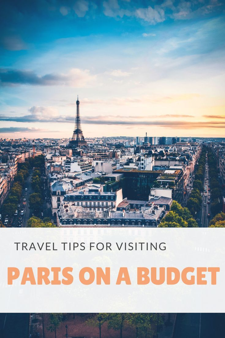 Travel Tips for Visiting Paris on a budget. When it comes to visiting Paris, you do generally expect that your trip will be costly. If you want to stay in comfortable hotels, eat exquisite dinners at top restaurants or visit prestigious museums and monume