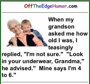 What a great idea.  My age would be under 20 every time.