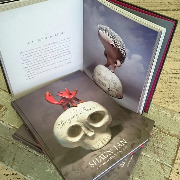 The Singing Bones // Shaun Tan // check out his amazing illustrations, all inspired by the Brothers Grimm Fairy Tales // Available in store and online