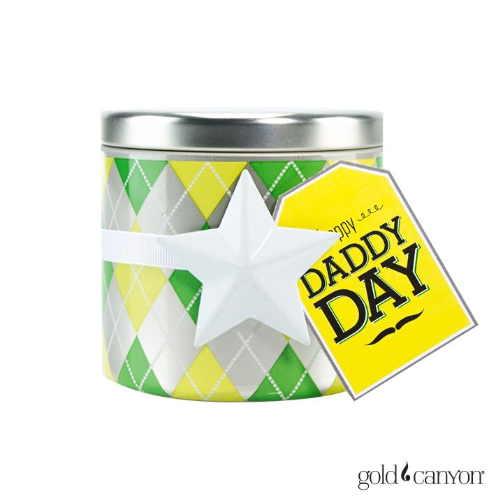 Give Dad a reminder of how special he is everyday with a fragrance just for him! This free printable is the perfect compliment to a fun argyle print!