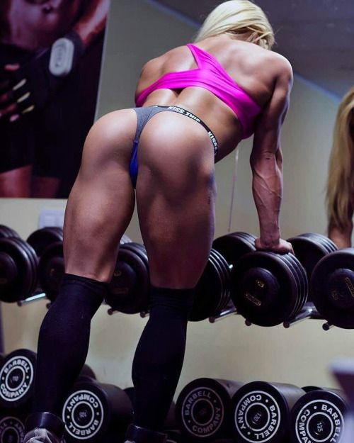 TRAINING PARTNER FANTASY - MUSCULAR GLUTES STRONG THIGHS of Sexy Fitness Model : Health Exercise #Fitspiration #Fitspo FitFam Crossfit Girls on Instagram - #Motivational Workout and Weight Training Pins by: CageCult