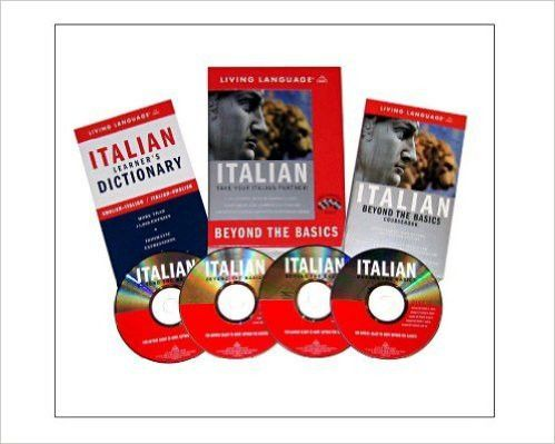 Beyond the Basics: Italian (Book and CD Set): Includes Coursebook, 4 Audio CDs, and Learner's Dictionary (Complete...