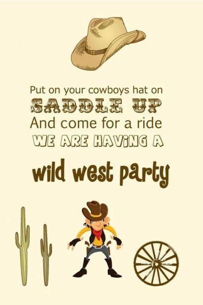Western Theme Party Ideas