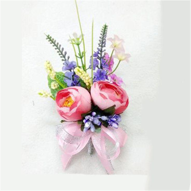Новый 4 шт./лот лучший мужчина корсаж для жениха дружки искусственные цветы свадебный костюм бутоньерки аксессуары брошь украшения купить на AliExpress