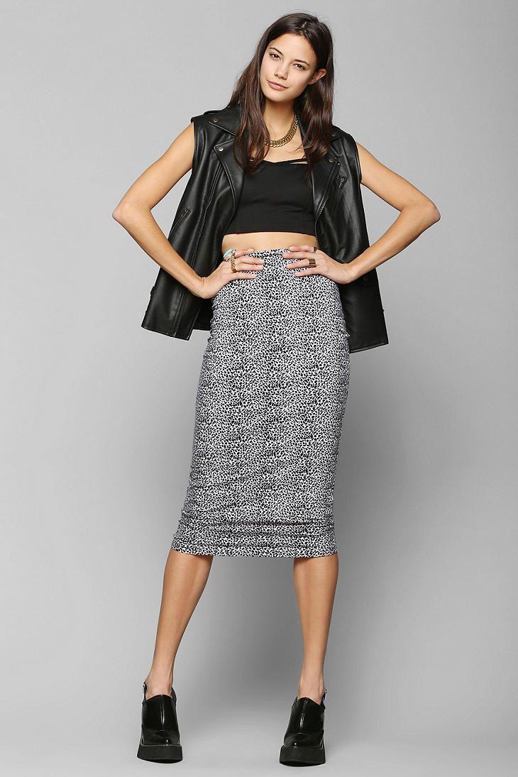 Midi skirt fitted – New skirt this season blog