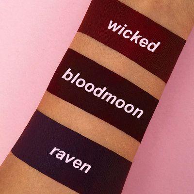 Bloodmoon   Dark Red Lipstick - Lime Crime