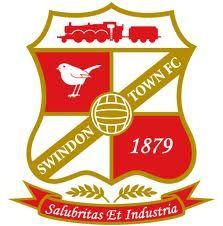 SWINDON TOWN FC    - SWINDON  - Wiltshire-