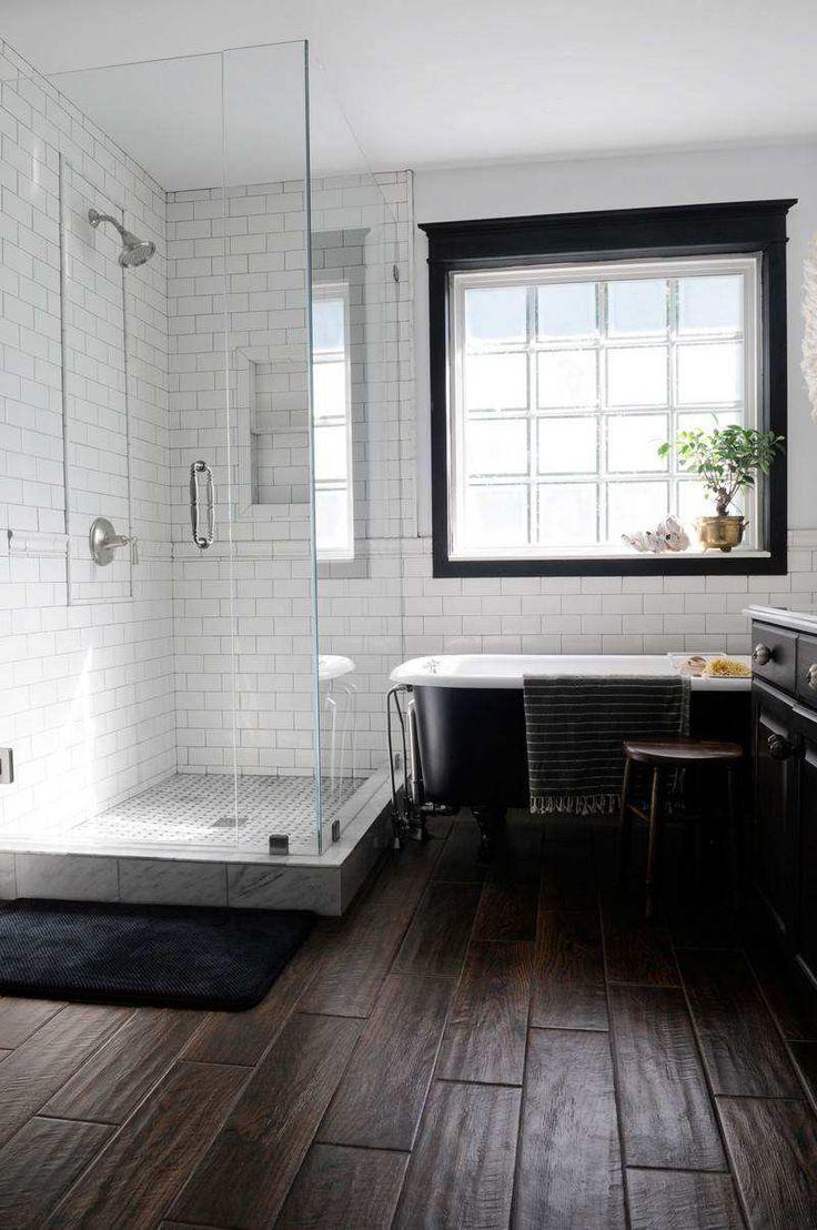 Carrelage Metro Noir Mat Gallery Of Excellent Design Carrelage - Carrelage metro salle de bain