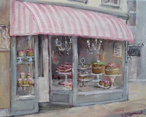 French cake shop by Gail McCormack