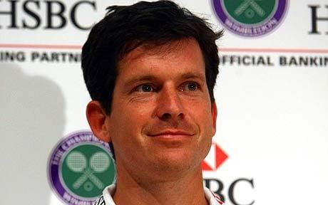 Mr Tim Henman before he retired from Tennis