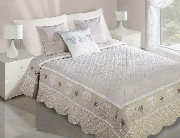 Bytový textil - přehozy na postel