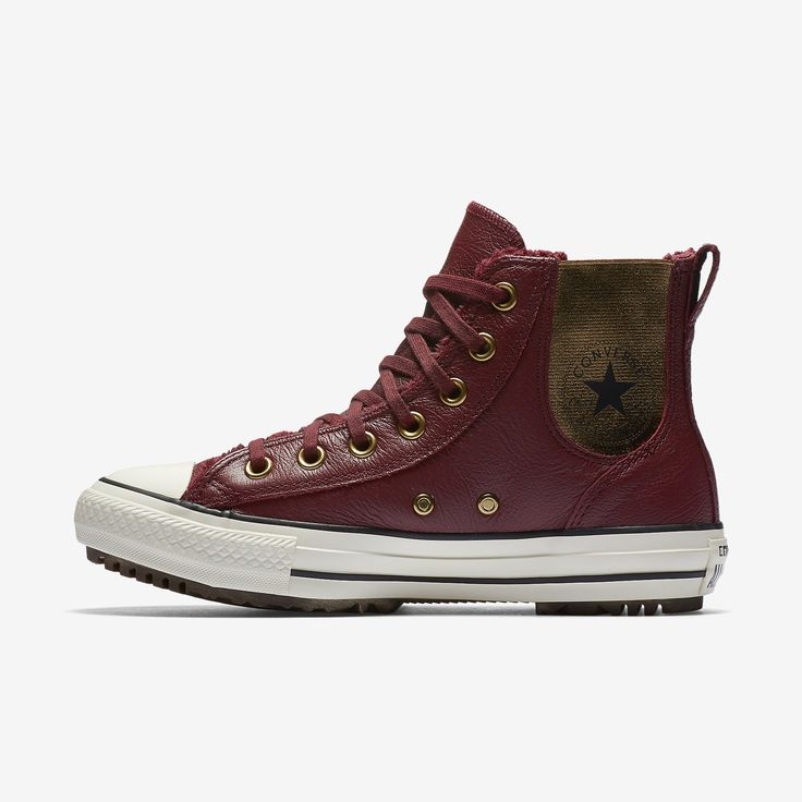 Converse Chuck Taylor All Star Leather and Faux Fur Chelsee Women's Boot  Size 11 (Red) - Clearance Sale