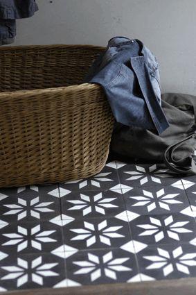 Tegels landelijk interieur Castelo portugese cement tegels - uw-vloer.nl #tegelvloer #interieur #landelijk